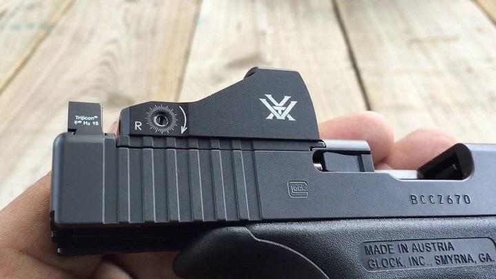 vortex red dot pistol