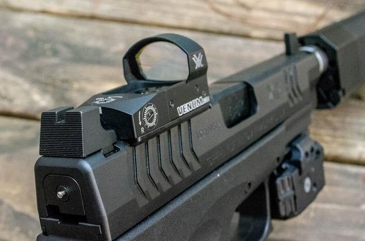 vortex pistol red dot