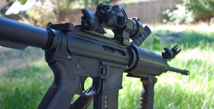 ar iron sights