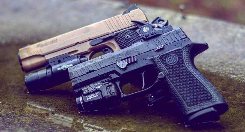 bed pistol red dot sight