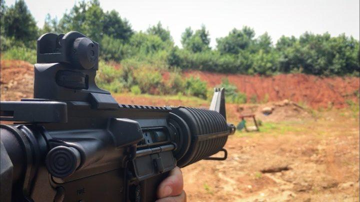 ar 15 pop up sights