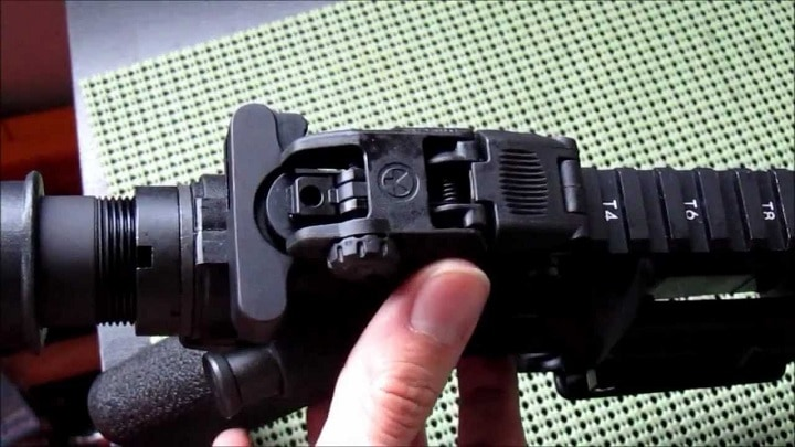 best ar 15 rear sight
