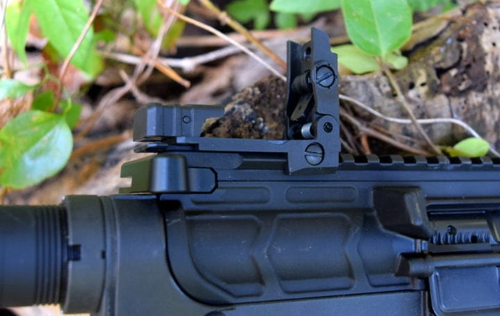 flip up ar15 sights