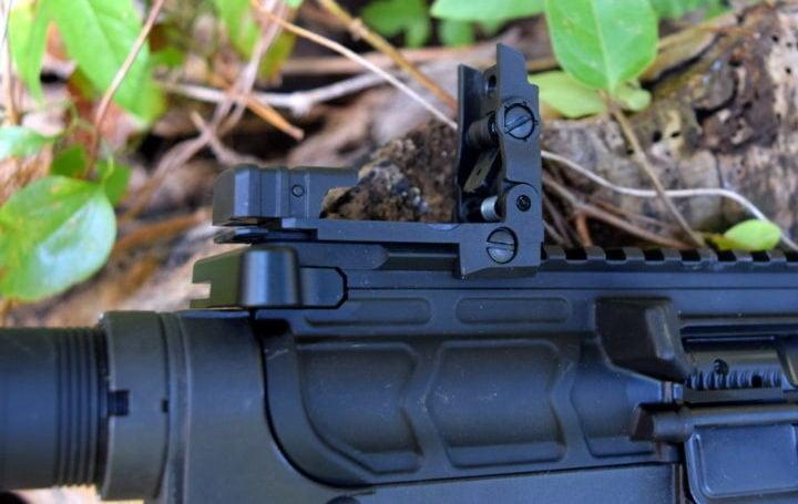 flip up ar15 sights
