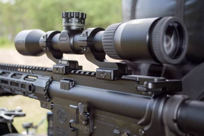 best long range tactical scope under 500