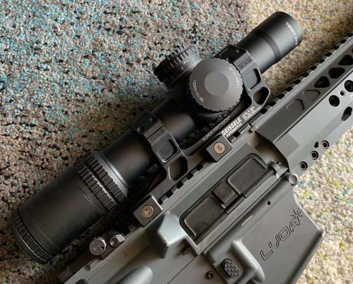 1 4x tactical scope