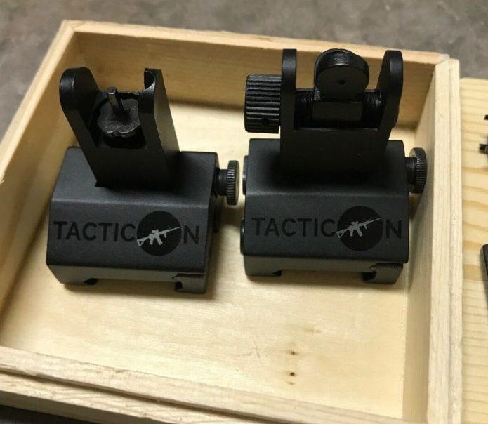 45 degree angle iron sights