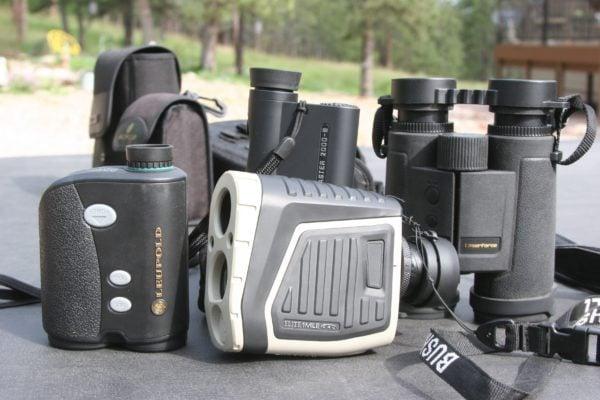 long range shooting range finder