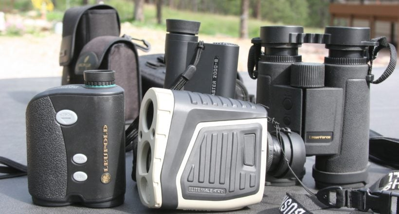 long range shooting range finder