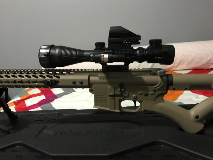 best cheap rifle scope