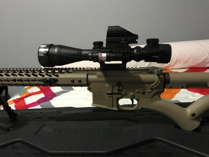 best cheap rifle scope