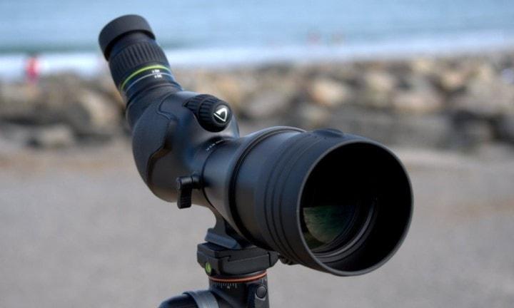 under 500 spotting scope