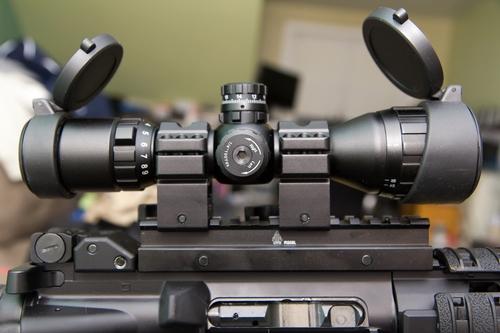 cheap rifle scopes