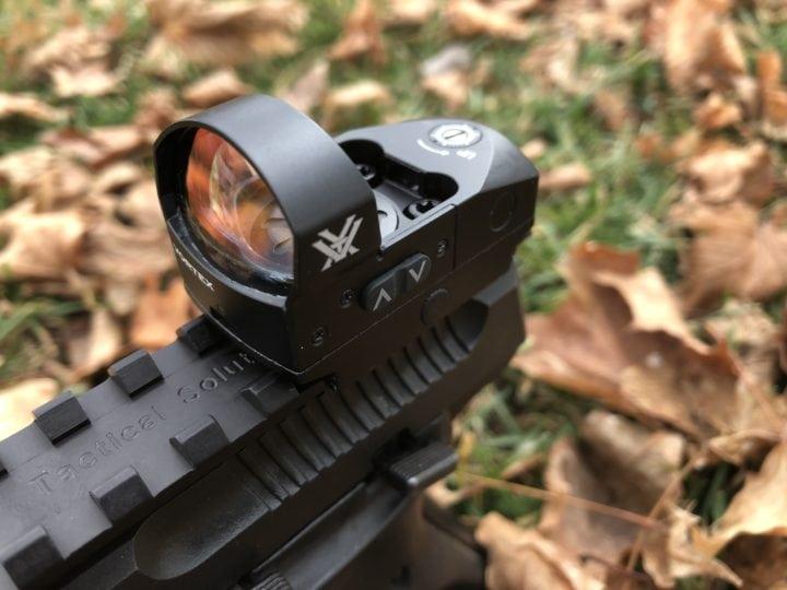 red dot shotgun