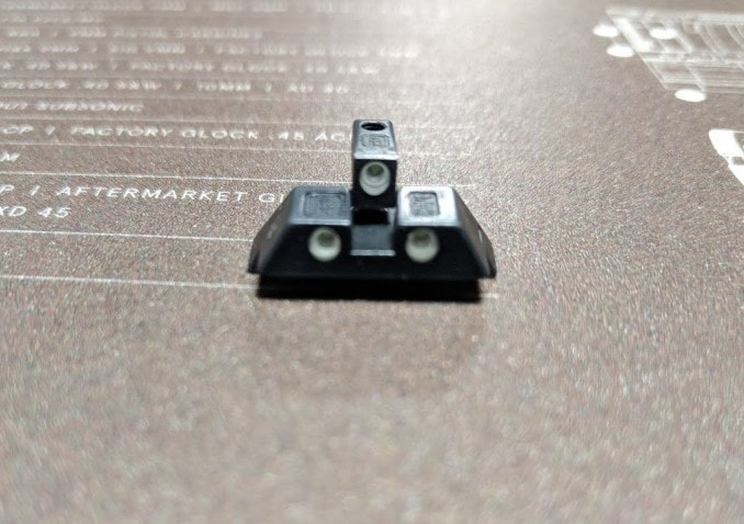 sights glock 43
