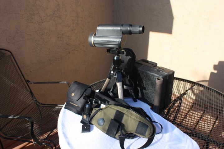 spotting scope for long range shooting