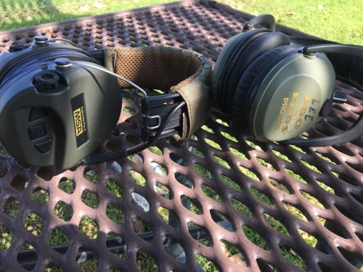 electronic ear muffs for shooting