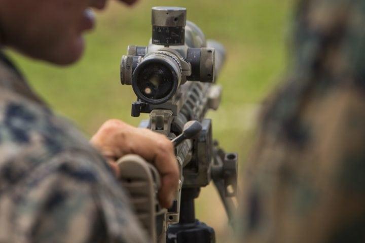 fixed power rifle scopes