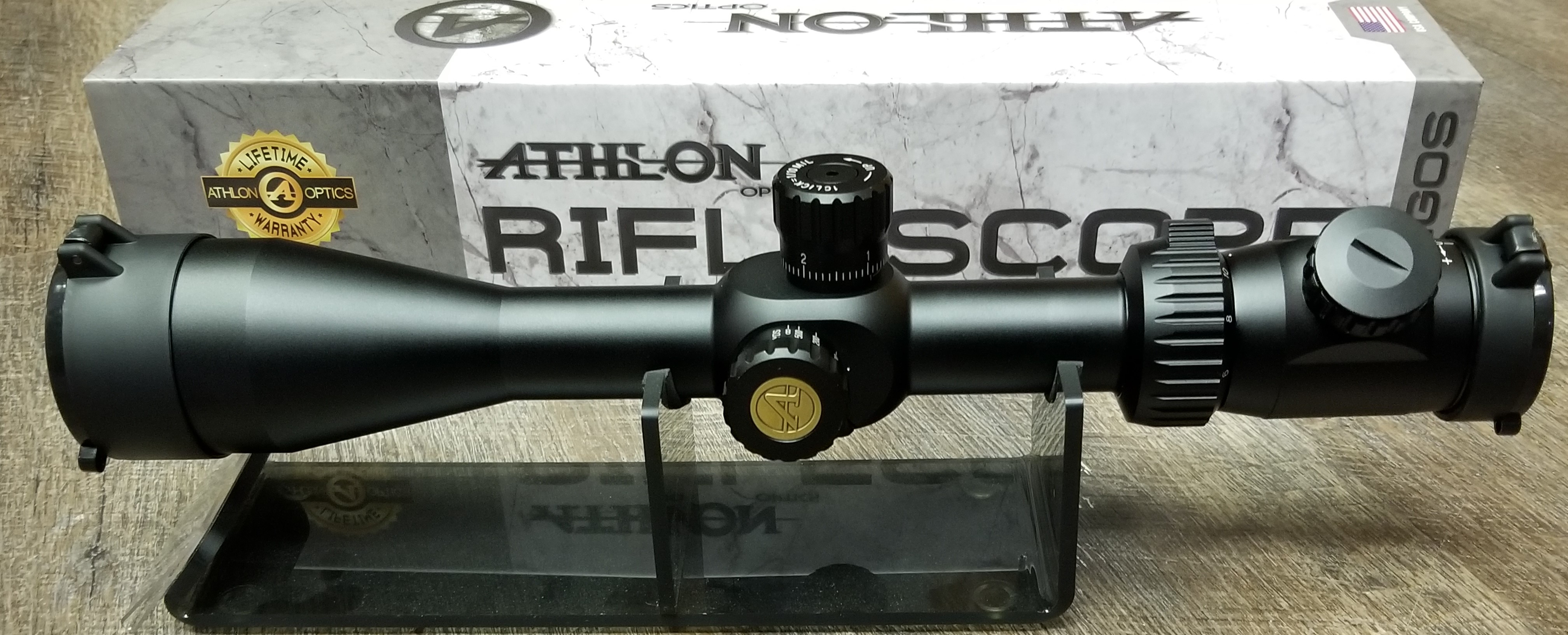 ffp rifle scope