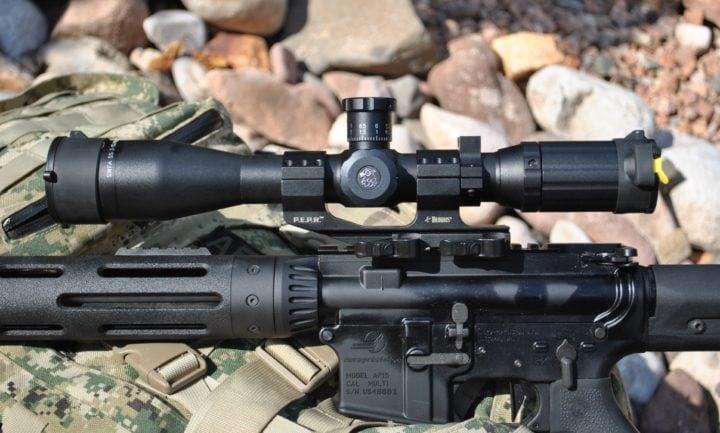 6x fixed power rifle scopes