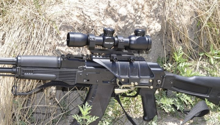 fixed 10x scope