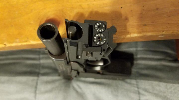 laser sights for pistols
