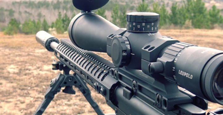 223 scope with bullet drop compensator