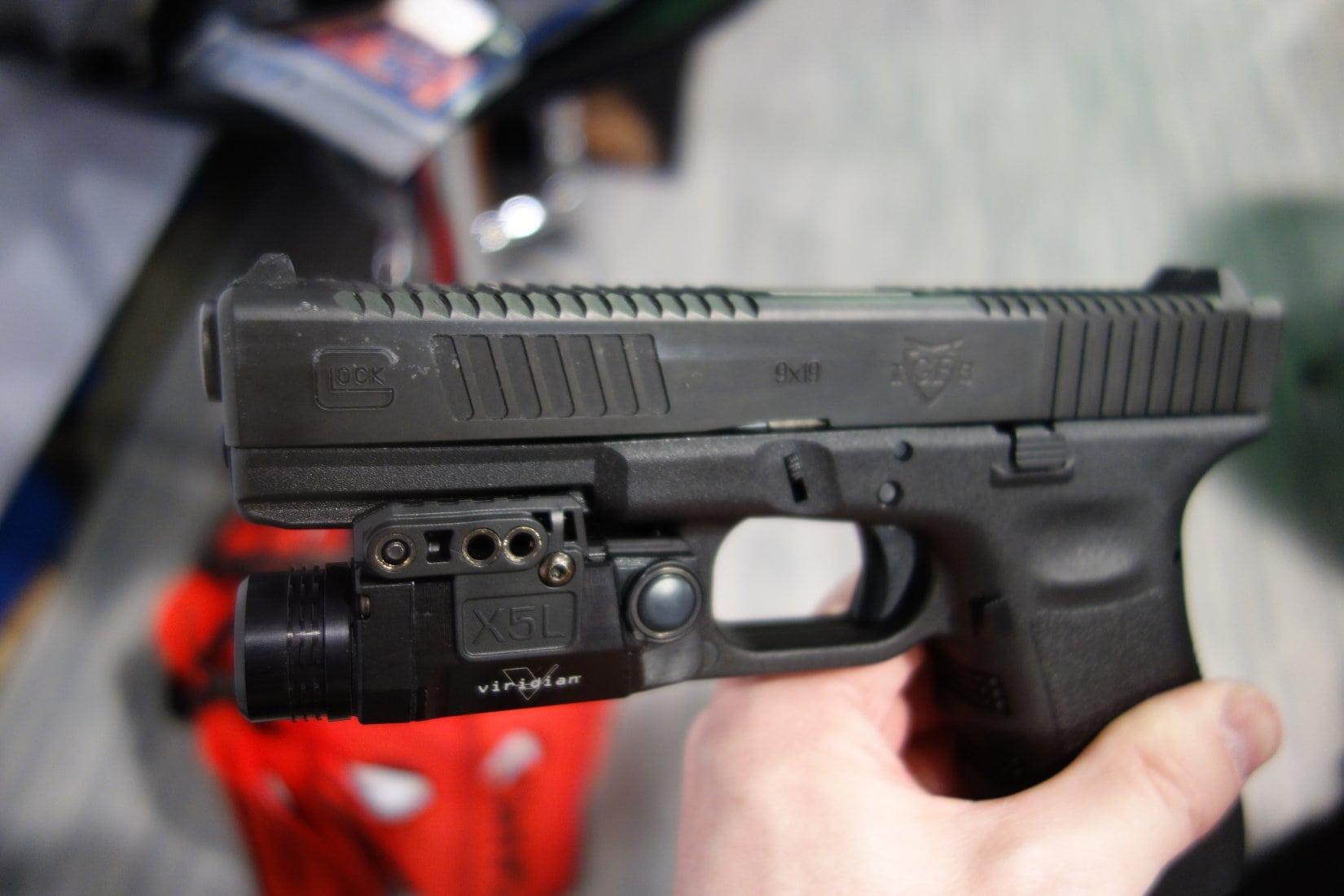 handgun laser sights