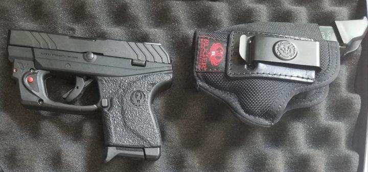laser sight for pistol