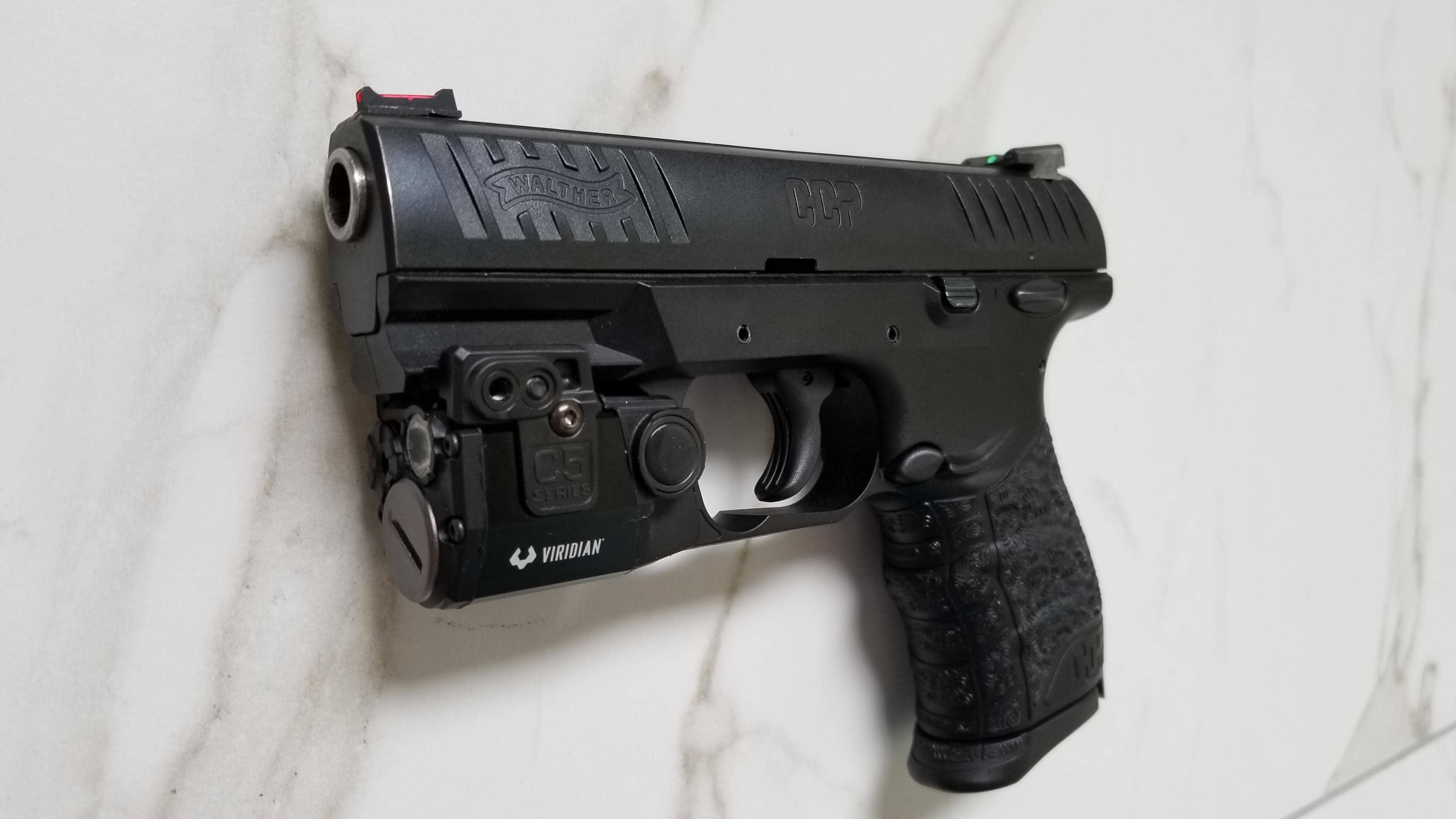 handgun laser sight