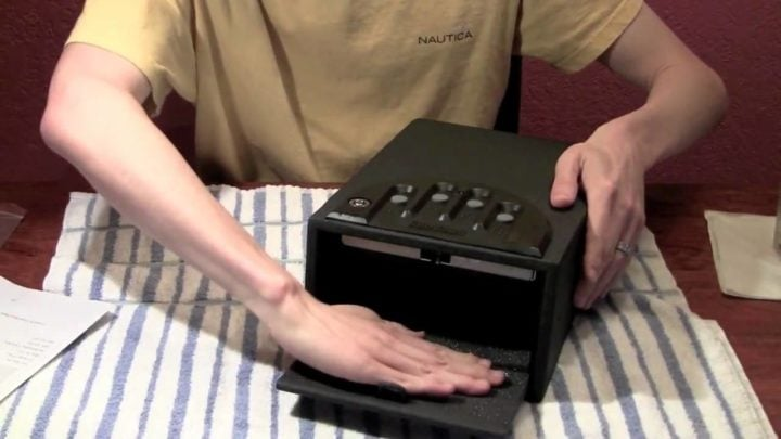 handgun safe reviews