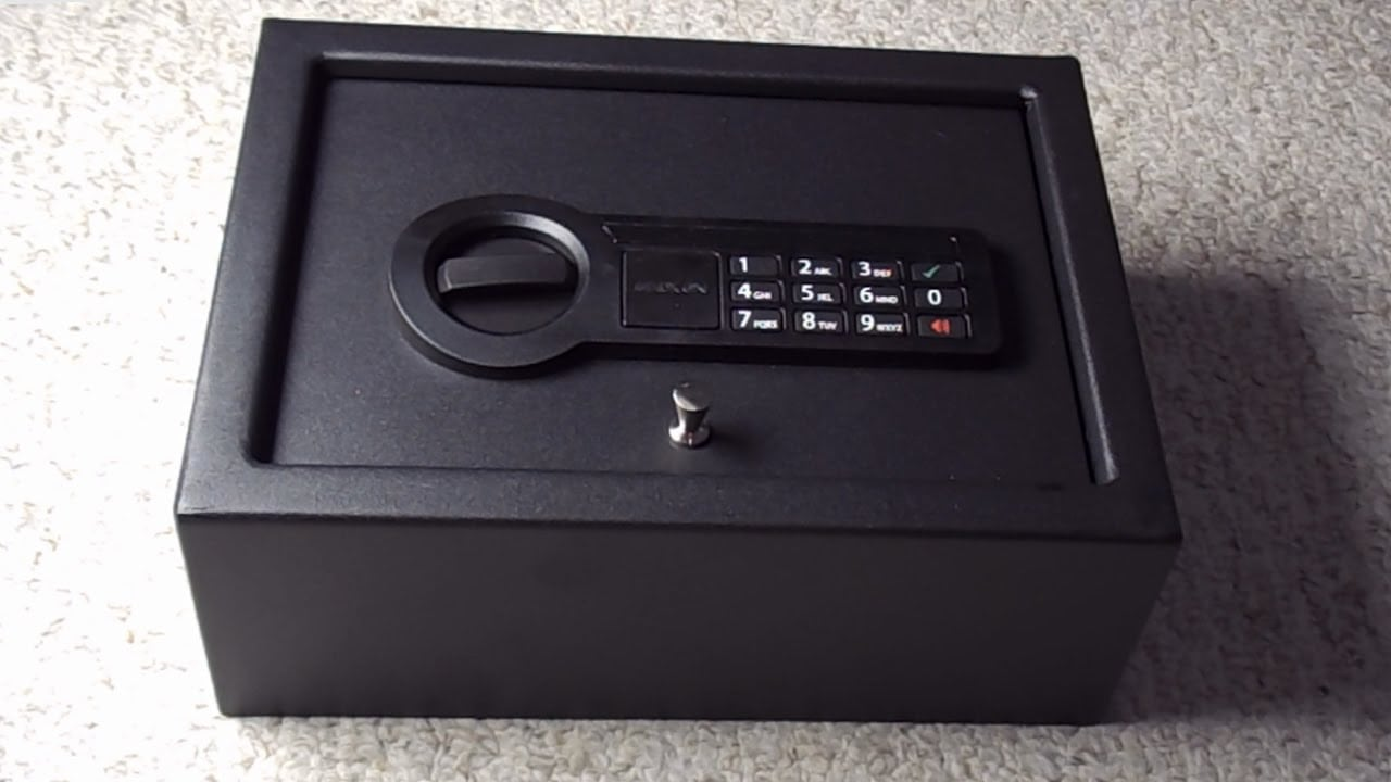 best pistol safes