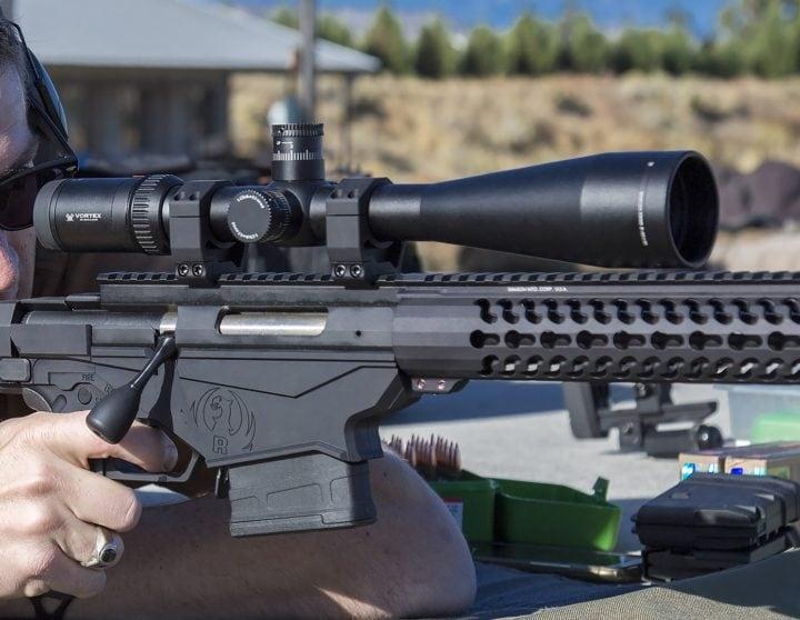 sniper scope view