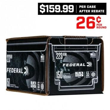 CASE OF FEDERAL AMERICAN EAGLE .223 REMINGTON