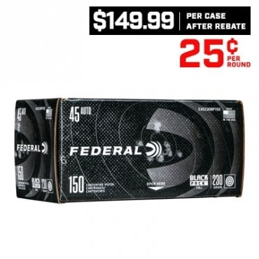 CASE OF FEDERAL 45 ACP 230