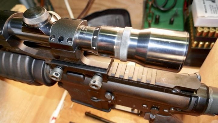 ar-15 with scope