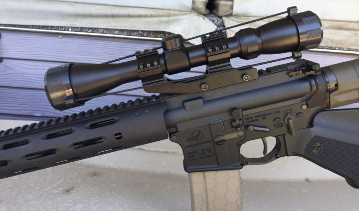 how to mount a rifle scope on a picatinny rail