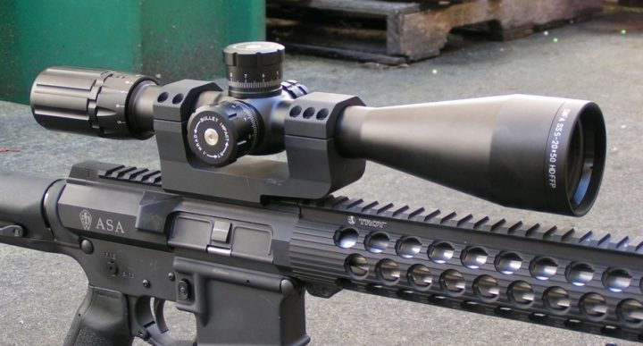 best tactical rifle scope