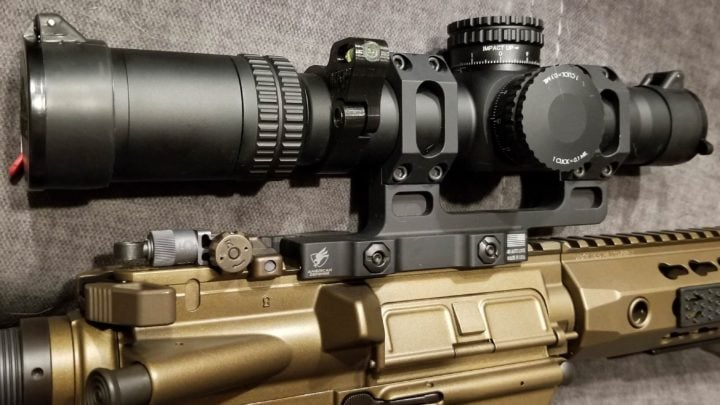 tactical rifle scopes