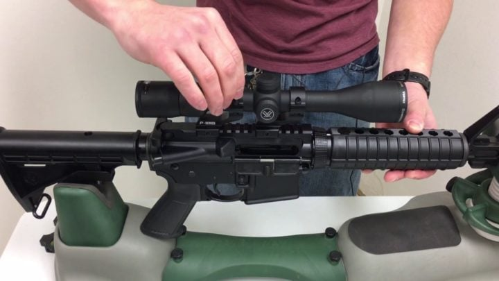 mounting a scope on an ar