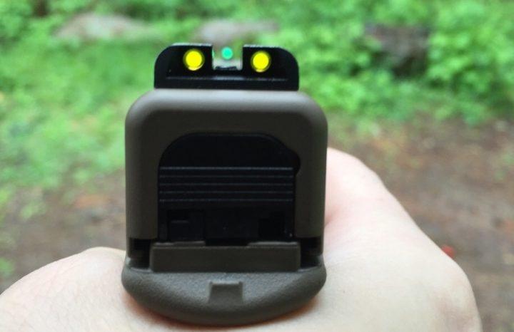 glock trijicon night sights