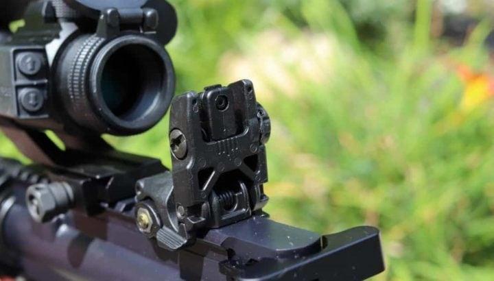 ar 15 front iron sight
