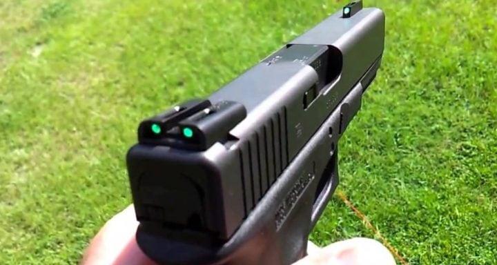best glock sights combat
