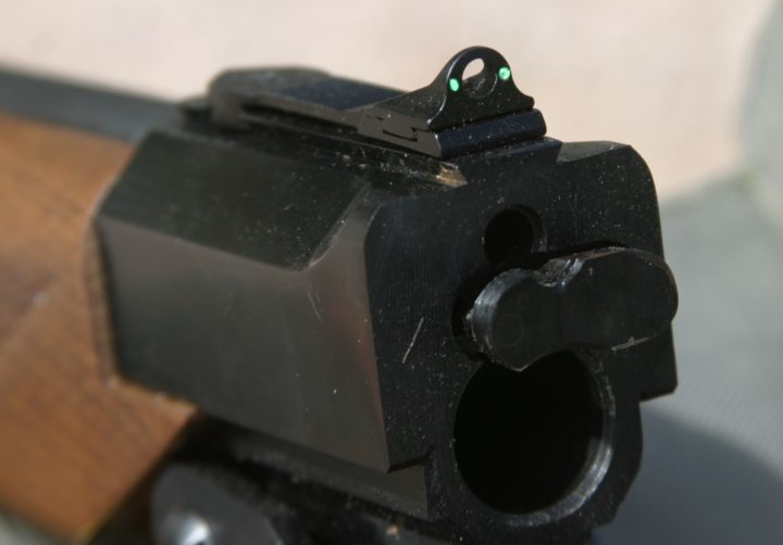 best iron sight picture