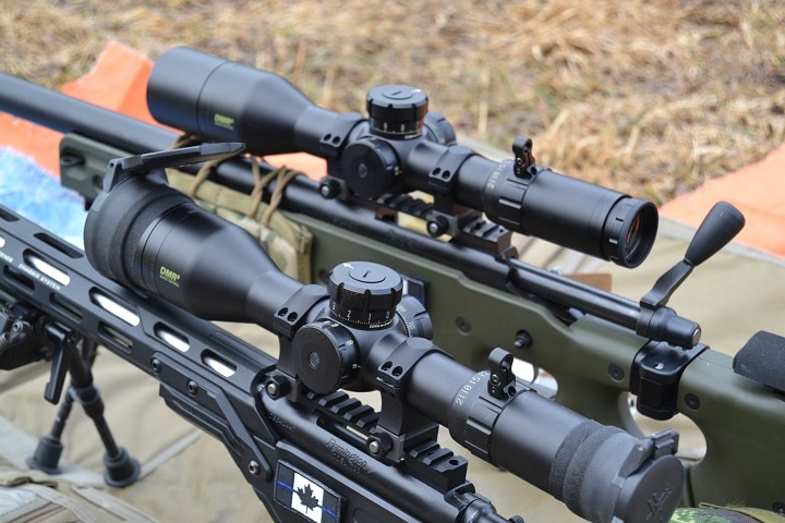 6.5 creedmoor rifle and scope