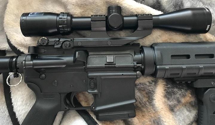 detachable scope mount