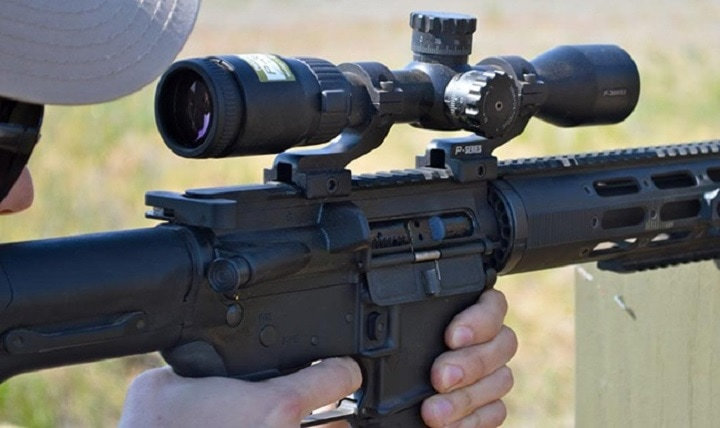 ar10 scope mount