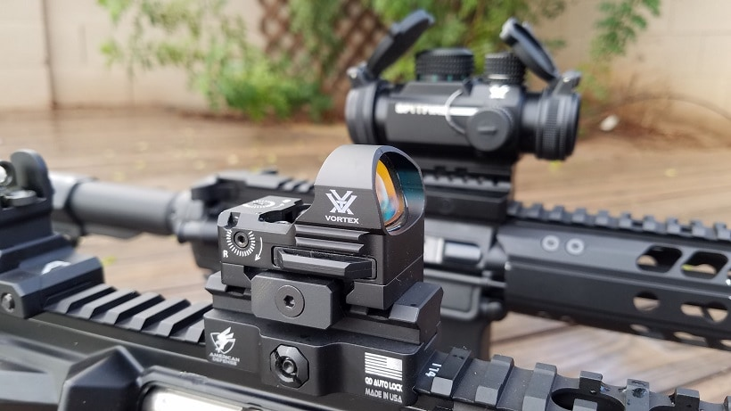magnified scope