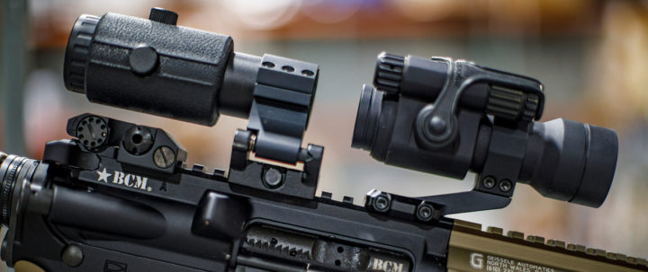 best red dot with magnifier