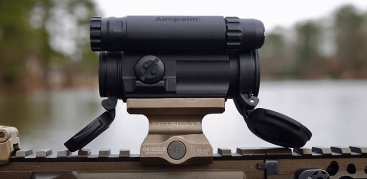 aimpoint holographic sight